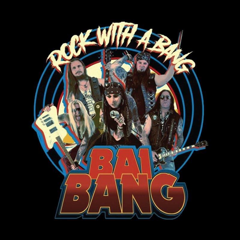 "BAI BANG - ""Rock With A Bang"" Men's Zip-Up Hoody by The RFL Records Shop"