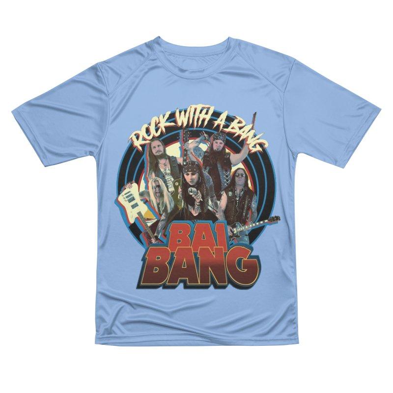"BAI BANG - ""Rock With A Bang"" Men's T-Shirt by The RFL Records Shop"