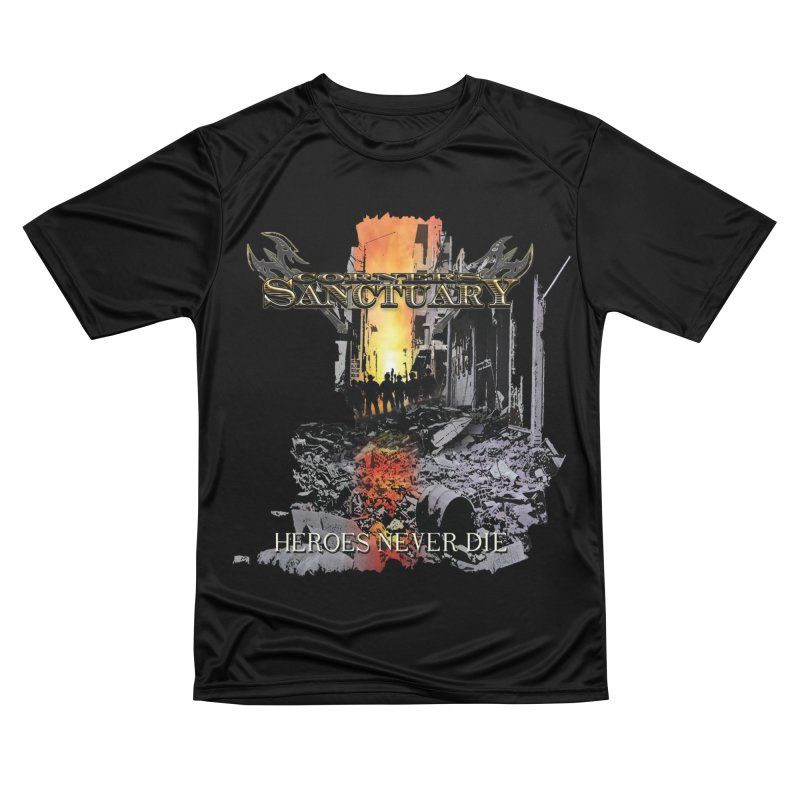 """Corners Of Sanctuary """"Heroes Never Die"""" Cover Art Women's T-Shirt by The RFL Records Shop"""