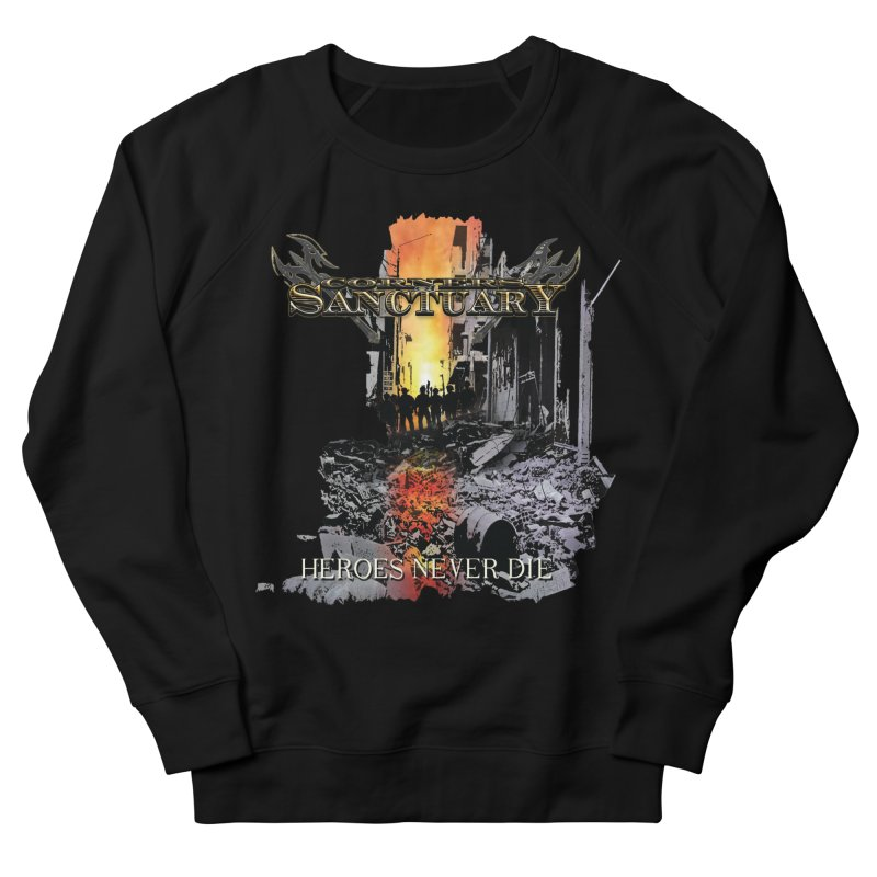 """Corners Of Sanctuary """"Heroes Never Die"""" Cover Art Women's Sweatshirt by The RFL Records Shop"""