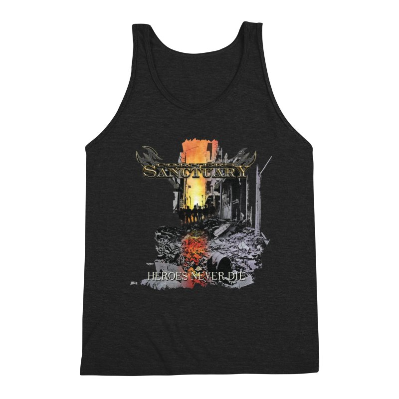 """Corners Of Sanctuary """"Heroes Never Die"""" Cover Art Men's Tank by The RFL Records Shop"""