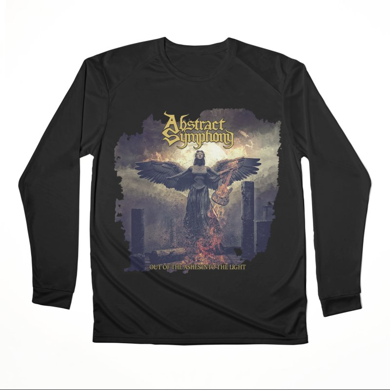 """Abstract Symphony - """"Out Of The Ashes Into The Light"""" Men's Longsleeve T-Shirt by The RFL Records Shop"""