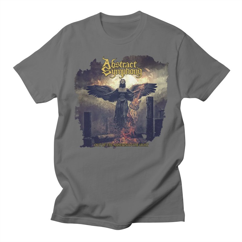 """Abstract Symphony - """"Out Of The Ashes Into The Light"""" Men's T-Shirt by The RFL Records Shop"""