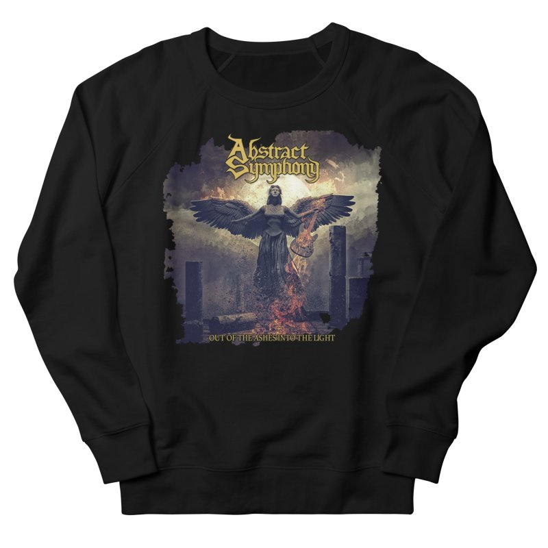 """Abstract Symphony - """"Out Of The Ashes Into The Light"""" Men's Sweatshirt by The RFL Records Shop"""