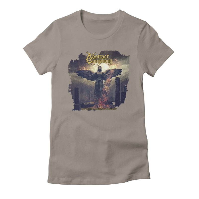 """Abstract Symphony - """"Out Of The Ashes Into The Light"""" Women's T-Shirt by The RFL Records Shop"""