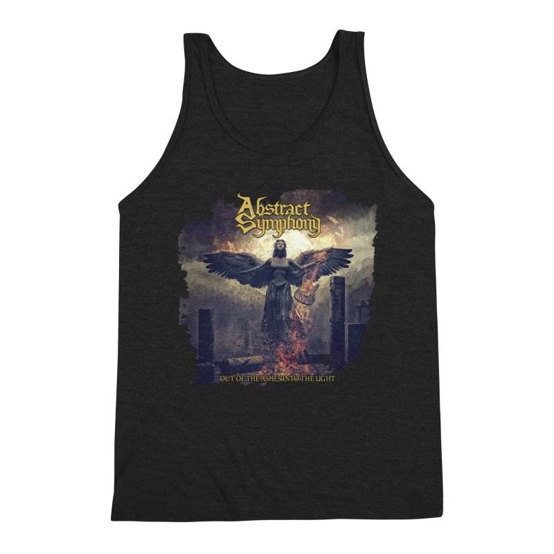 """Abstract Symphony - """"Out Of The Ashes Into The Light"""" Men's Tank by The RFL Records Shop"""
