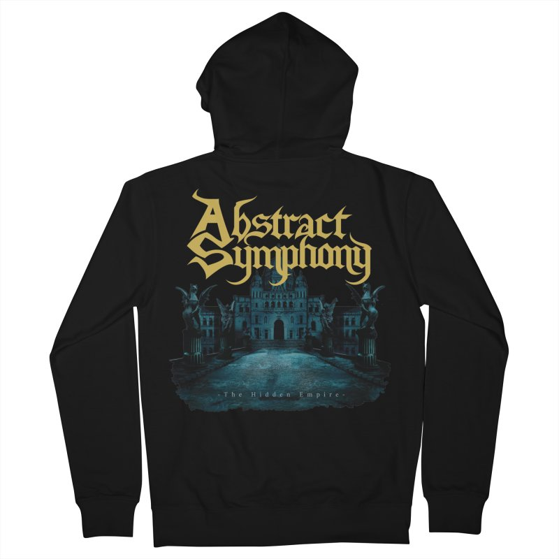 """Abstract Symphony """"The Hidden Empire"""" Men's Zip-Up Hoody by The RFL Records Shop"""