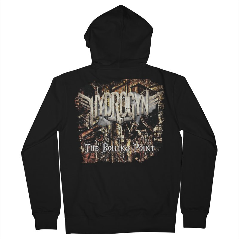 """Hydrogyn """"The BoilingPoint"""" Album Art Men's Zip-Up Hoody by The RFL Records Shop"""