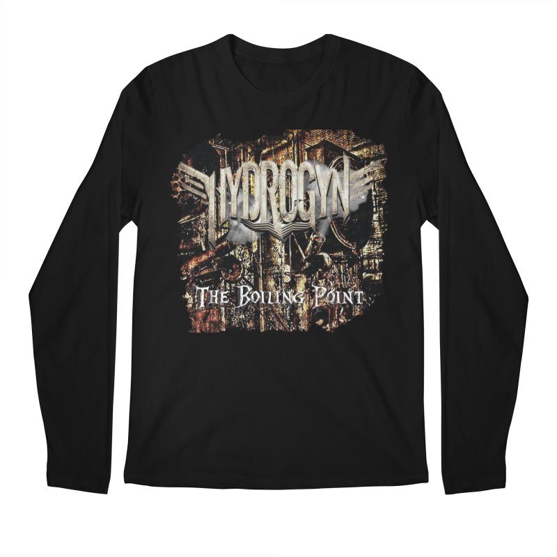 "Hydrogyn ""The BoilingPoint"" Album Art Men's Longsleeve T-Shirt by The RFL Records Shop"