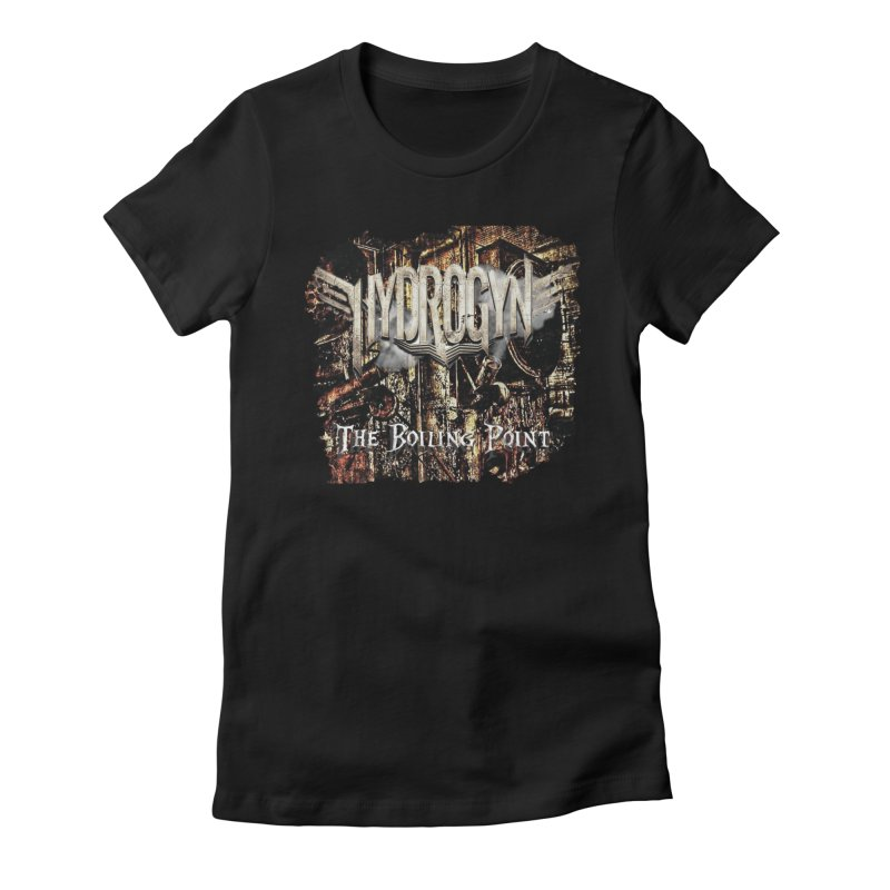 "Hydrogyn ""The BoilingPoint"" Album Art Women's T-Shirt by The RFL Records Shop"