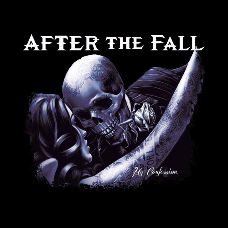"After The Fall ""My Confession"" Album Art Men's T-Shirt by The RFL Records Shop"