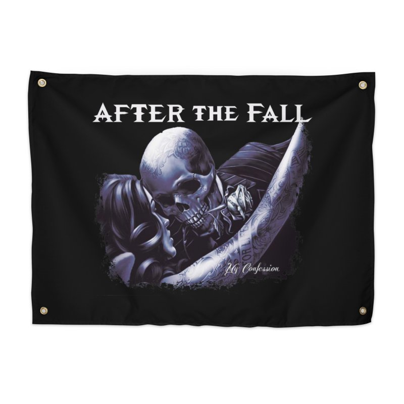 """After The Fall """"My Confession"""" Album Art Home Tapestry by The RFL Records Shop"""