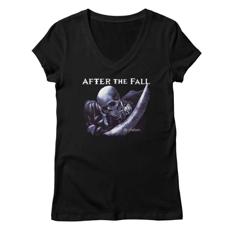 """After The Fall """"My Confession"""" Album Art Women's V-Neck by The RFL Records Shop"""