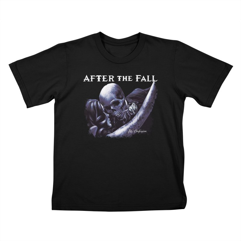 """After The Fall """"My Confession"""" Album Art Kids T-Shirt by The RFL Records Shop"""