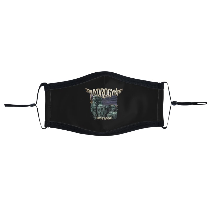 """Hydrogyn """"Hostage"""" Single Art Accessories Face Mask by The RFL Records Shop"""