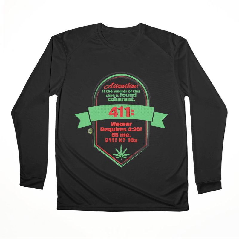 Coherent 411 Women's Performance Unisex Longsleeve T-Shirt by The SeshHeadz's Artist Shop