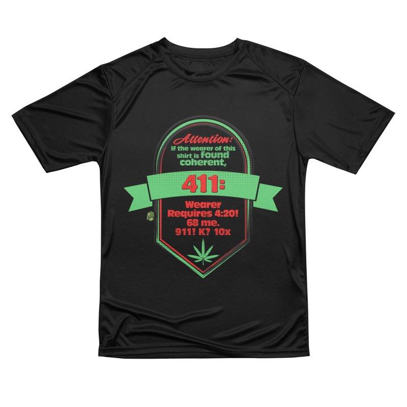 Coherent 411 Women's Performance Unisex T-Shirt by The SeshHeadz's Artist Shop