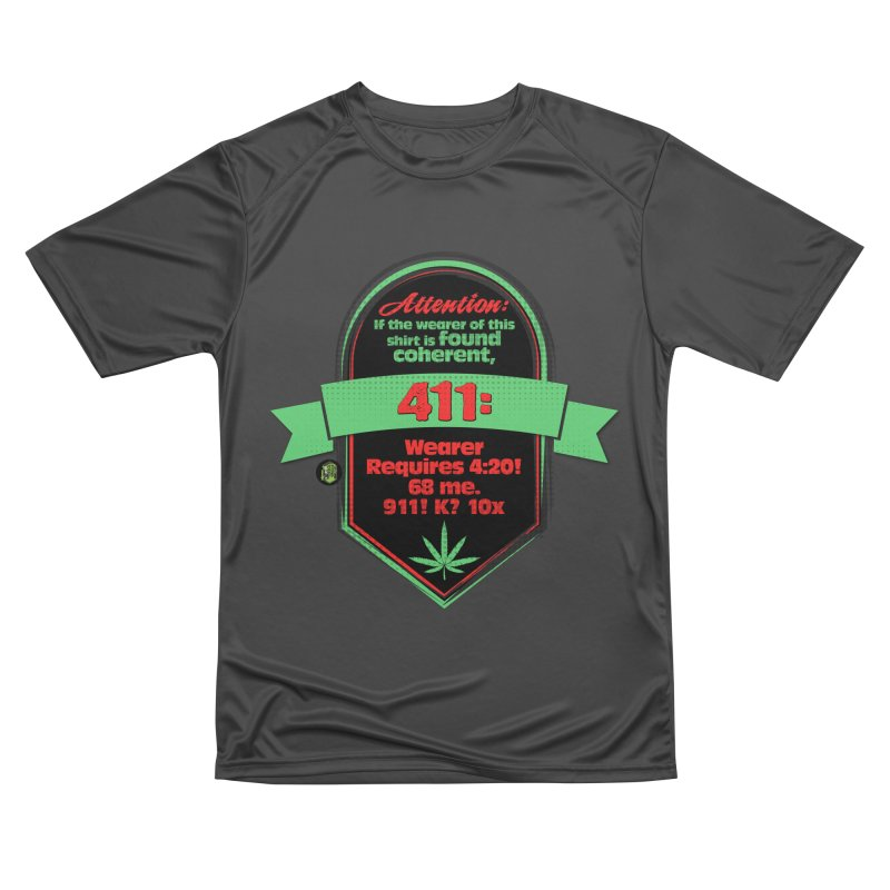 Coherent 411 Men's Performance T-Shirt by The SeshHeadz's Artist Shop