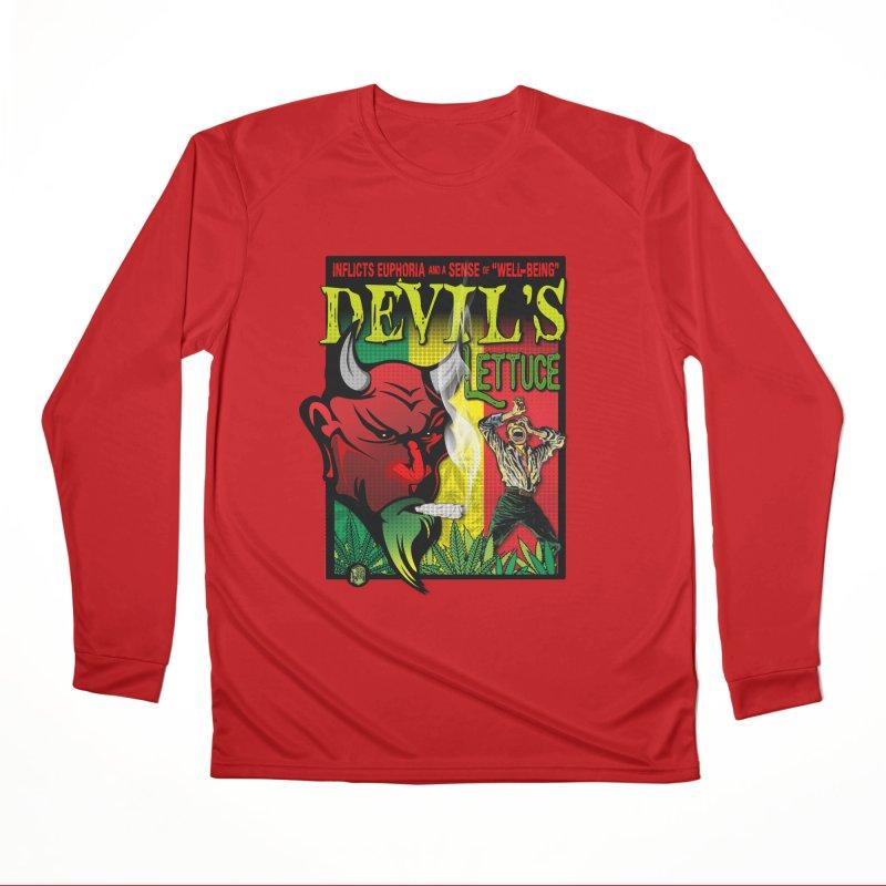 Devil's Lettuce Women's Performance Unisex Longsleeve T-Shirt by The SeshHeadz's Artist Shop