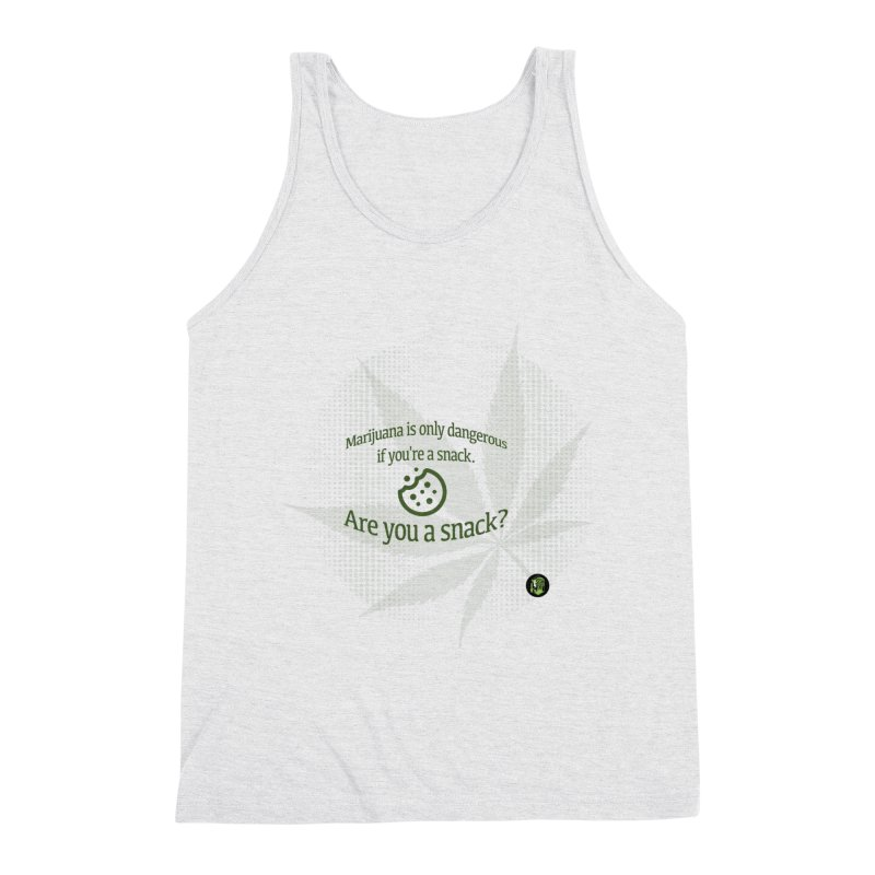 Are you a snack? Men's Triblend Tank by The SeshHeadz's Artist Shop