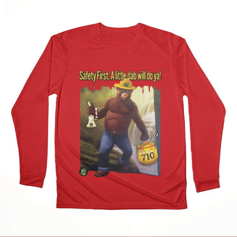 710 the Bear Women's Performance Unisex Longsleeve T-Shirt by The SeshHeadz's Artist Shop