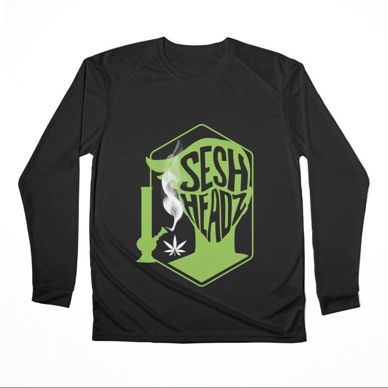 SeshHeads Logo shirt Women's Performance Unisex Longsleeve T-Shirt by The SeshHeadz's Artist Shop
