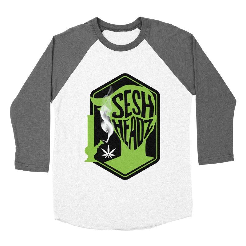 SeshHeads Logo shirt Women's Baseball Triblend Longsleeve T-Shirt by The SeshHeadz's Artist Shop