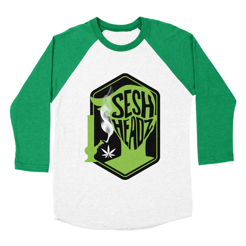 SeshHeads Logo shirt Women's Baseball Triblend Longsleeve T-Shirt by The SeshHeadz's Artist Shop