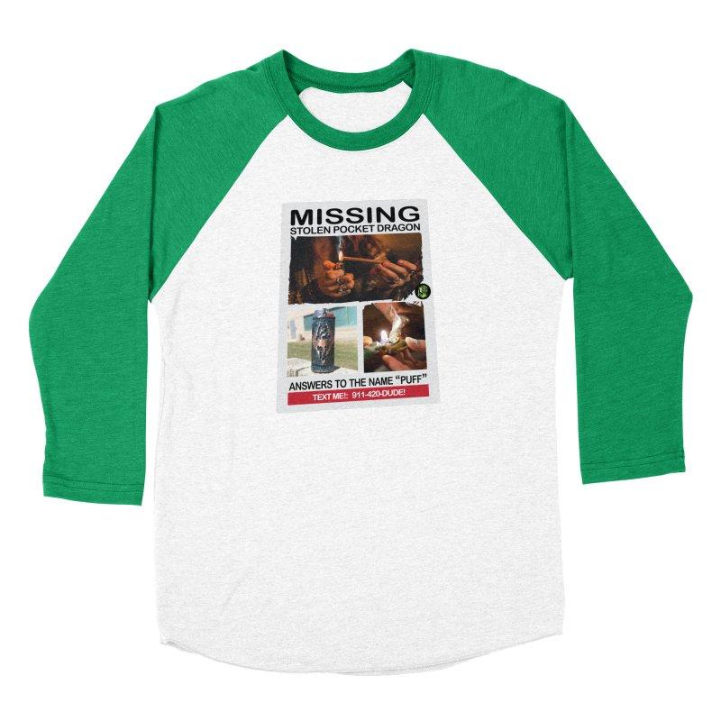 Stolen Pocket Dragon Women's Baseball Triblend Longsleeve T-Shirt by The SeshHeadz's Artist Shop