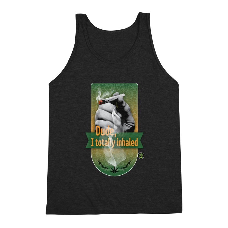 Dude, I totally inhaled Men's Triblend Tank by The SeshHeadz's Artist Shop