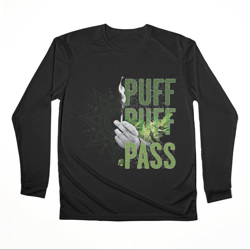 Puff Puff Pass Women's Performance Unisex Longsleeve T-Shirt by The SeshHeadz's Artist Shop
