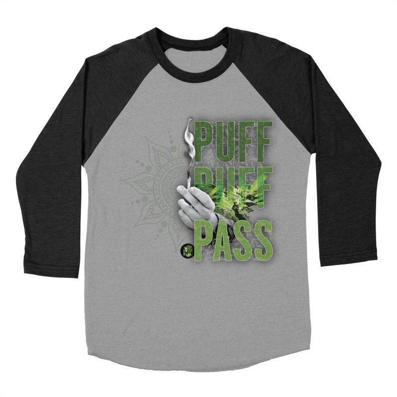 Puff Puff Pass Women's Baseball Triblend Longsleeve T-Shirt by The SeshHeadz's Artist Shop