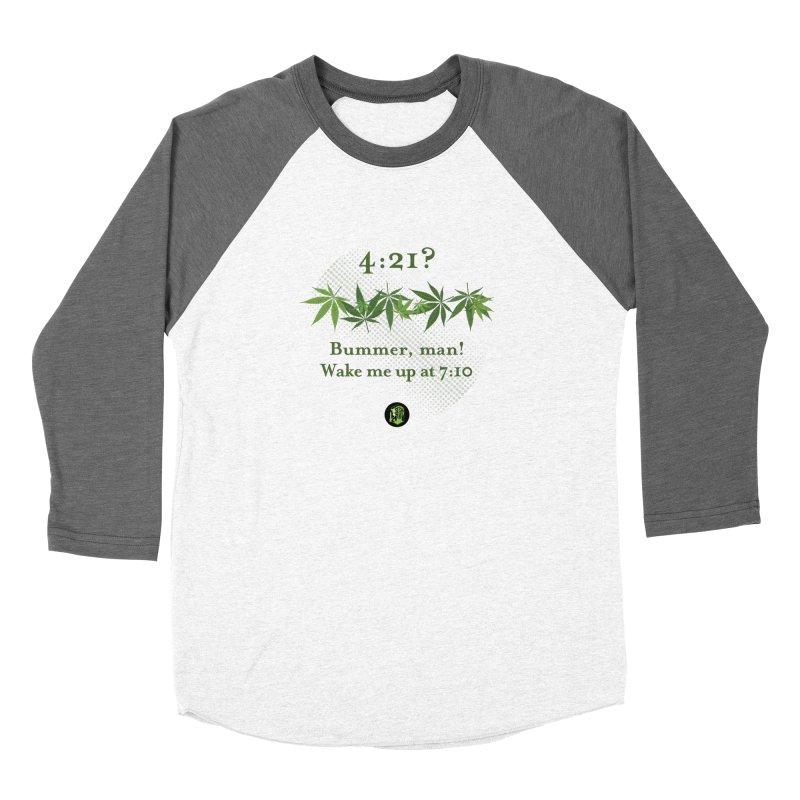 Bummer, man! Women's Baseball Triblend Longsleeve T-Shirt by The SeshHeadz's Artist Shop