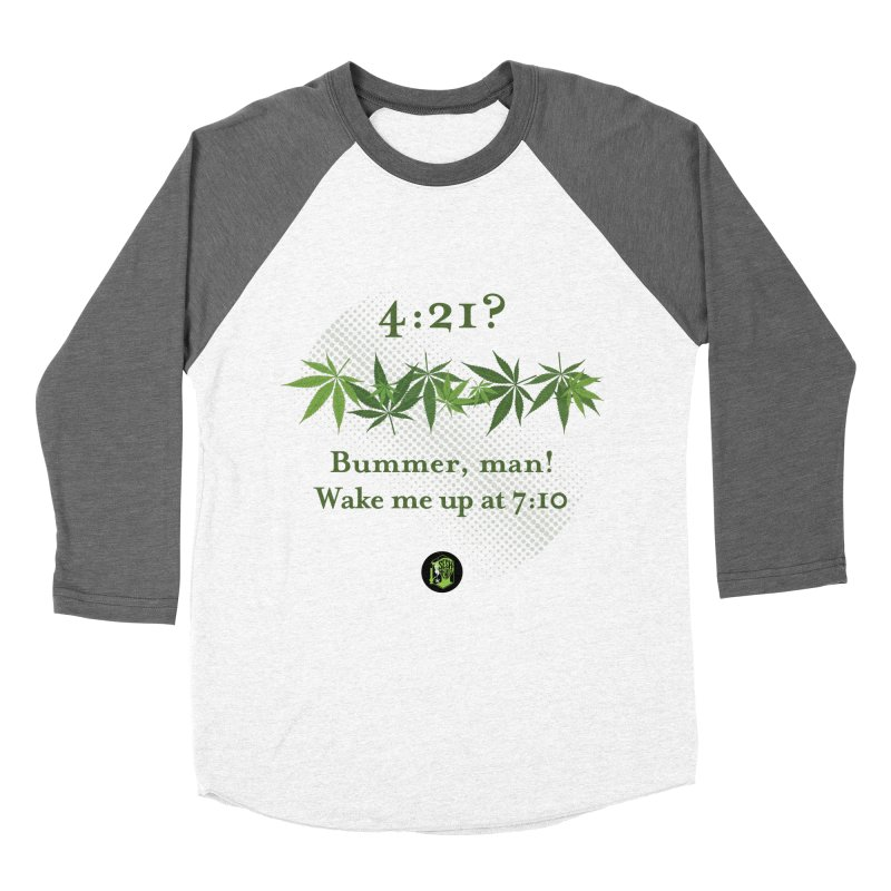 Bummer, man! Women's Baseball Triblend Longsleeve T-Shirt by The SeshHeadz's Artist Shop
