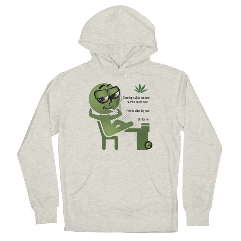 it's too far Men's French Terry Pullover Hoody by The SeshHeadz's Artist Shop