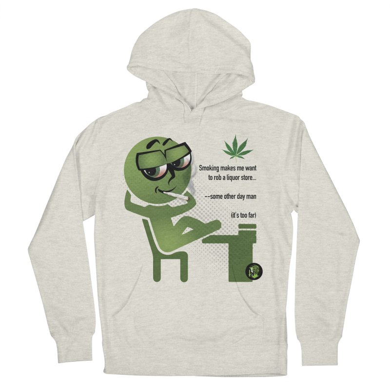 it's too far Women's French Terry Pullover Hoody by The SeshHeadz's Artist Shop