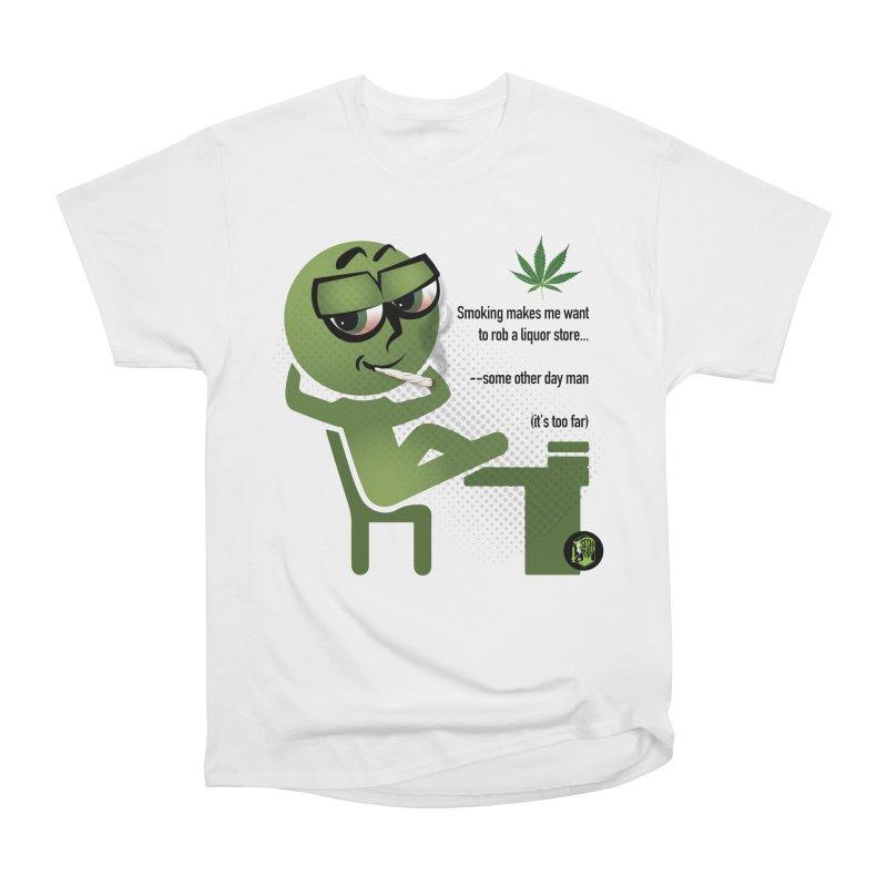 it's too far Men's Heavyweight T-Shirt by The SeshHeadz's Artist Shop