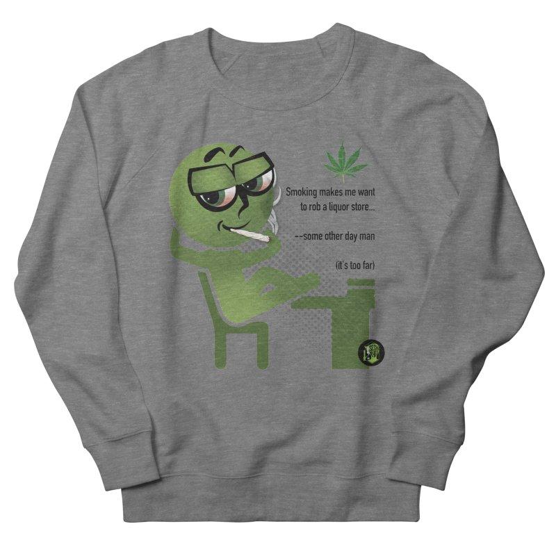 it's too far Men's French Terry Sweatshirt by The SeshHeadz's Artist Shop