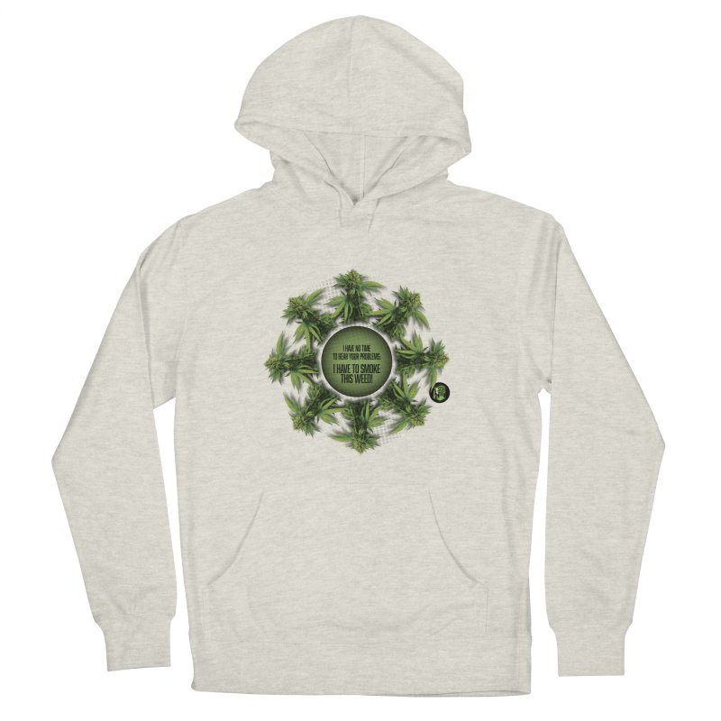 No time Men's French Terry Pullover Hoody by The SeshHeadz's Artist Shop