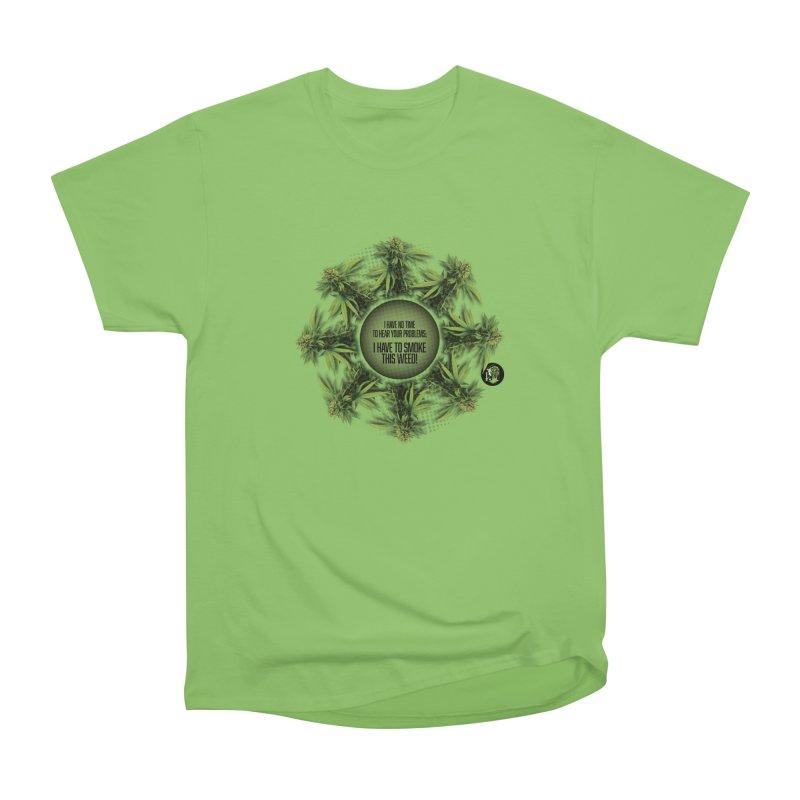 No time Men's Heavyweight T-Shirt by The SeshHeadz's Artist Shop