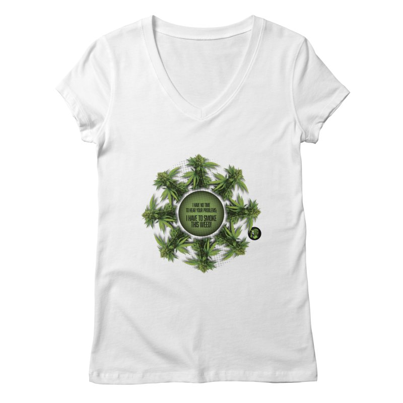 No time Women's Regular V-Neck by The SeshHeadz's Artist Shop