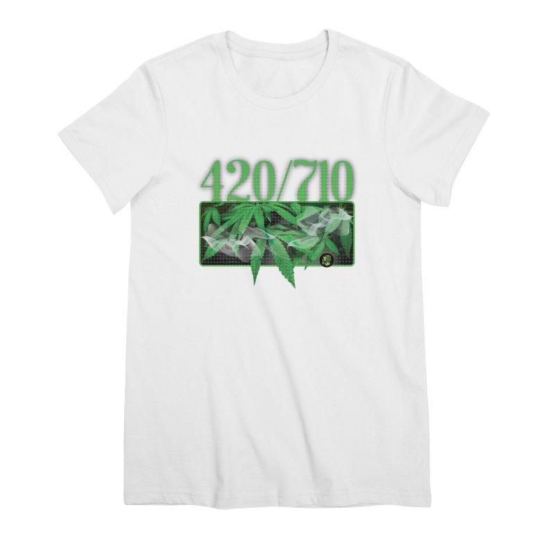 420/710 Women's Premium T-Shirt by The SeshHeadz's Artist Shop