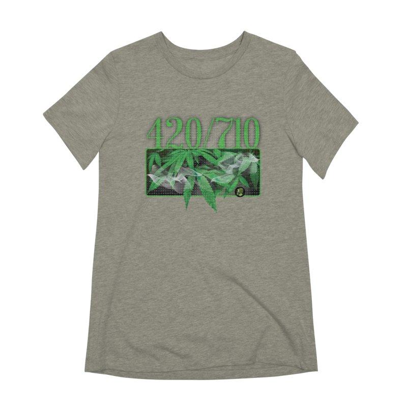 420/710 Women's Extra Soft T-Shirt by The SeshHeadz's Artist Shop