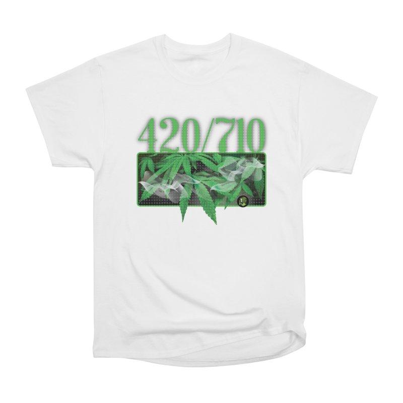420/710 Men's Heavyweight T-Shirt by The SeshHeadz's Artist Shop