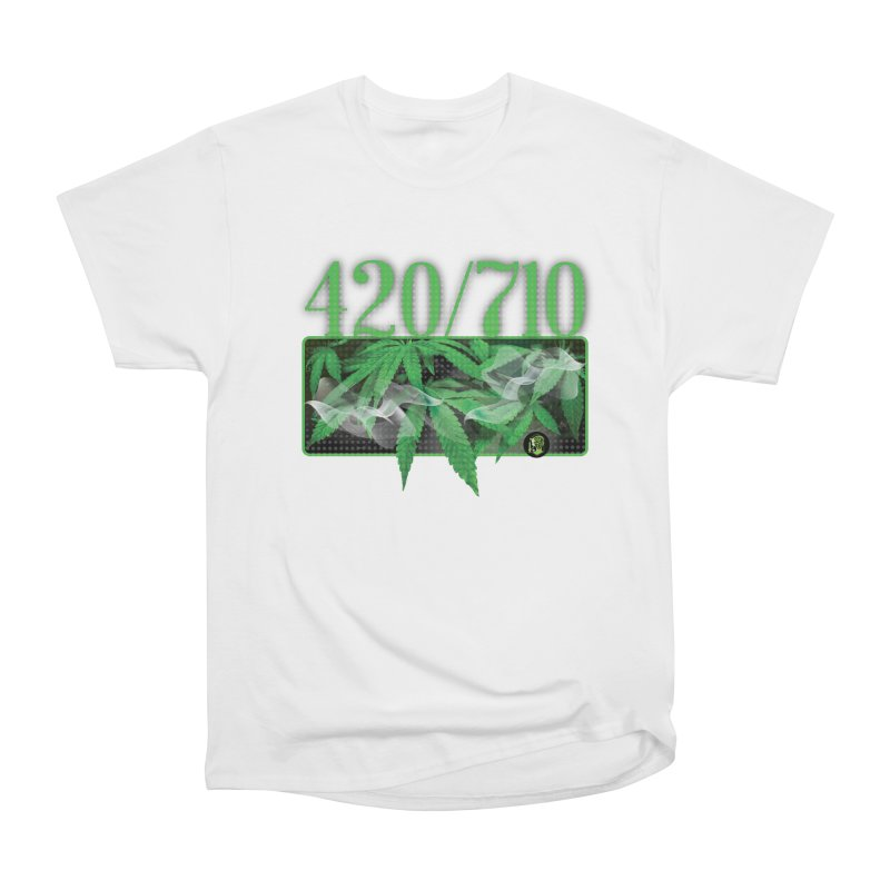 420/710 Women's Heavyweight Unisex T-Shirt by The SeshHeadz's Artist Shop