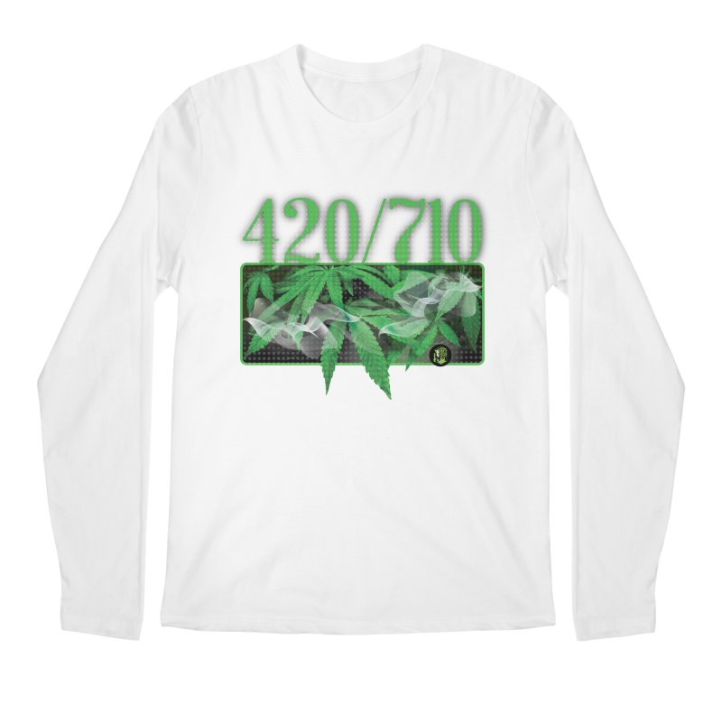 420/710 Men's Regular Longsleeve T-Shirt by The SeshHeadz's Artist Shop