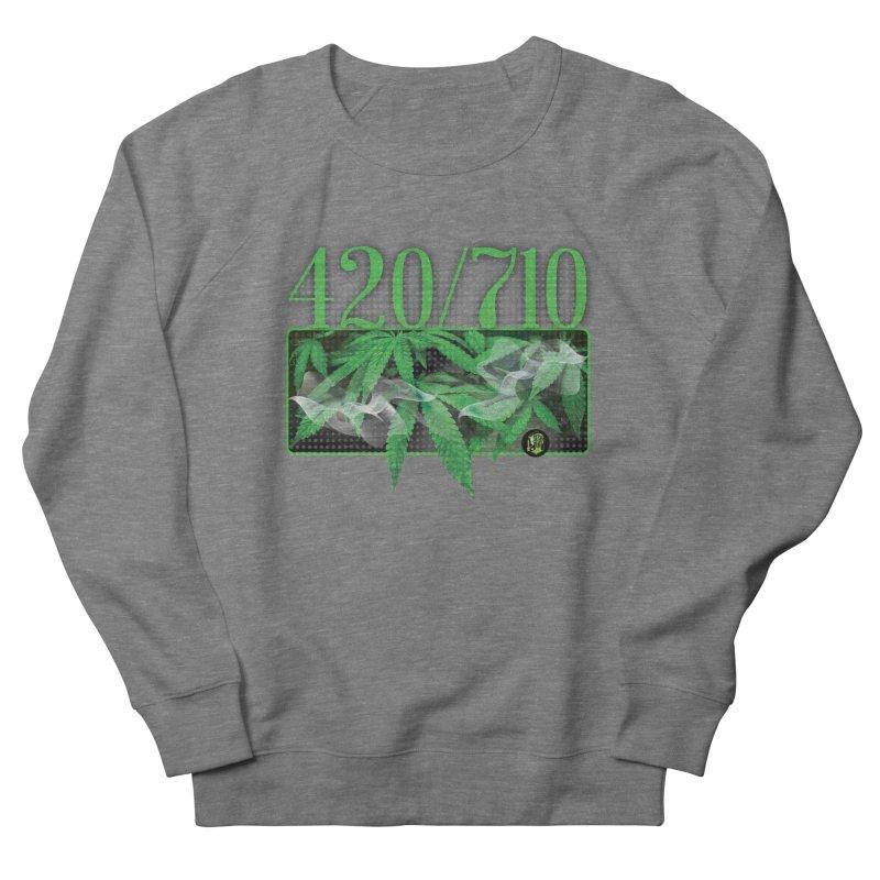 420/710 Men's French Terry Sweatshirt by The SeshHeadz's Artist Shop