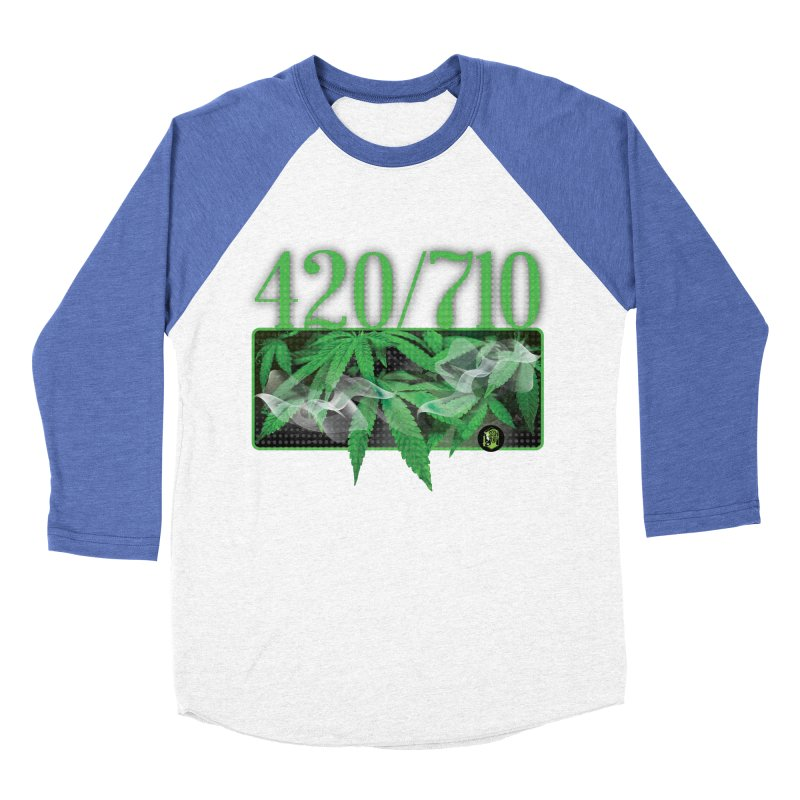 420/710 Men's Baseball Triblend Longsleeve T-Shirt by The SeshHeadz's Artist Shop