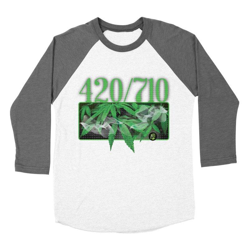 420/710 Men's Baseball Triblend Longsleeve T-Shirt by The SeshHeadz's Artist Shop