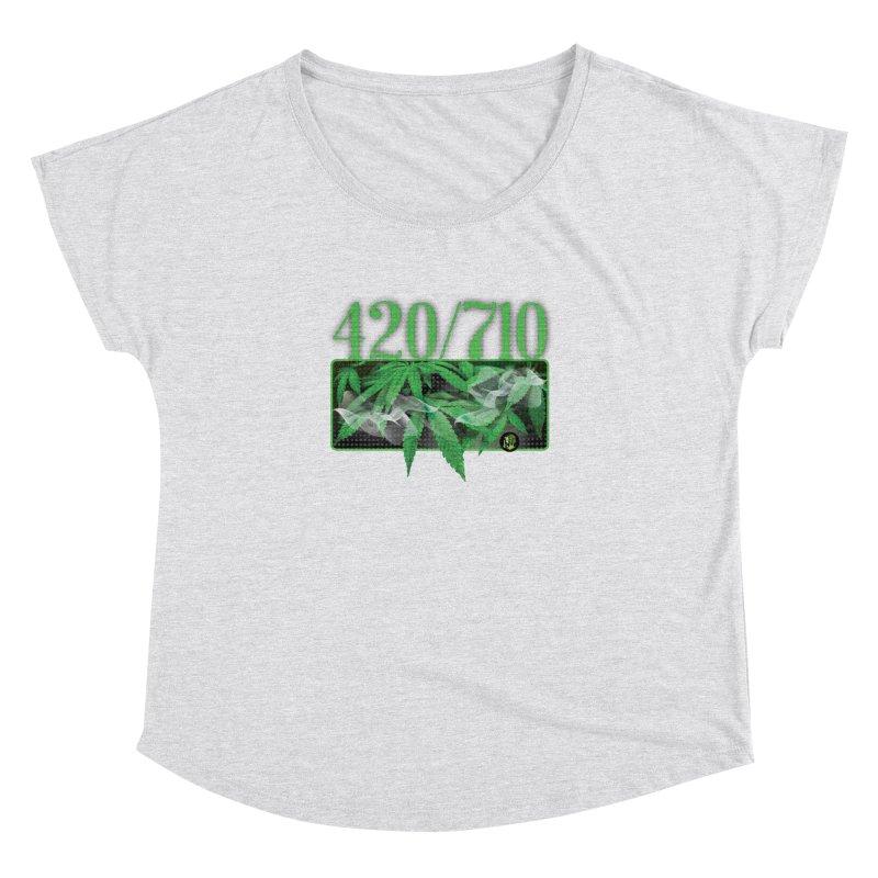 420/710 Women's Dolman Scoop Neck by The SeshHeadz's Artist Shop